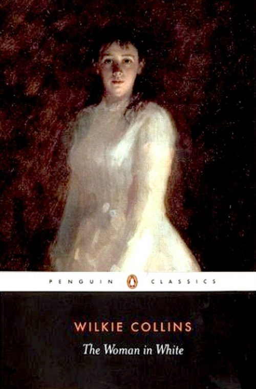 Book cover: The Woman in White - Wilkie Collins