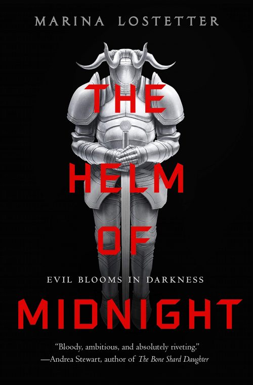 Book cover: The Helm of Midnight - Marina Lostetter