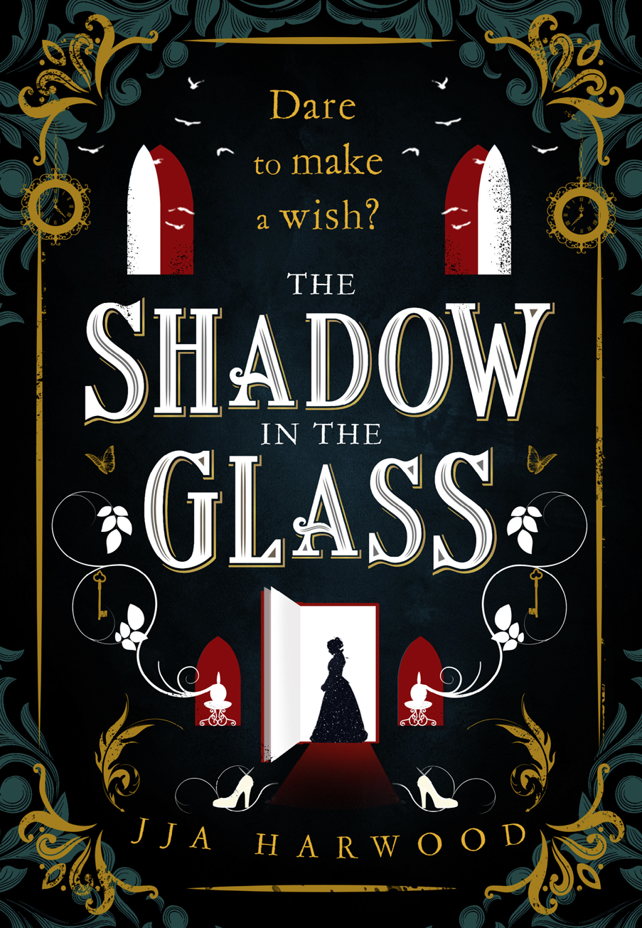 Book cover: The Shadow in the Glass - JJA Harwood