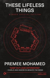 Book cover: These Lifeless Things - Premee Mohamed