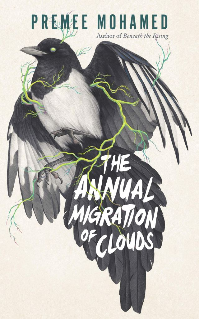 Book cover: The Annual Migration of Clouds - Premee Mohamed