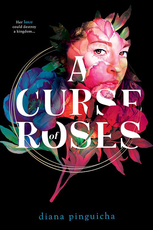 Book cover: A Curse of Roses - Diana Pinguicha