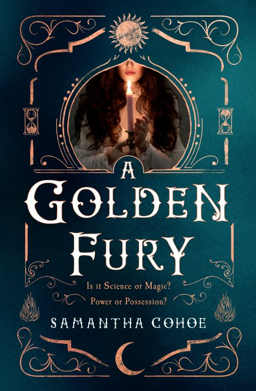 Book cover: A Golden Fury - Samantha Cohoe