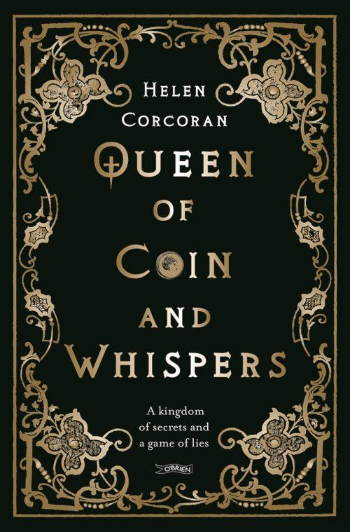 Book cover: Queen of Coin and Whispers - Helen Corcoran