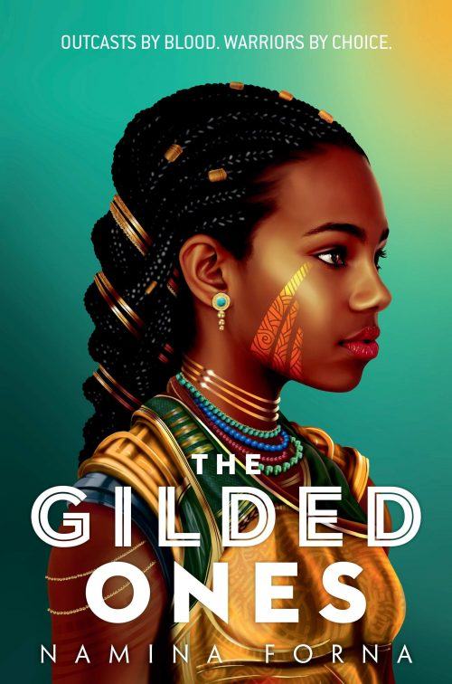 Book cover: The Gilded Ones - Namina Forna