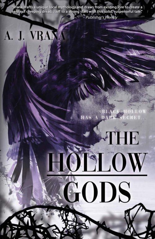 Book cover: The Hollow Gods - AJ Vrana