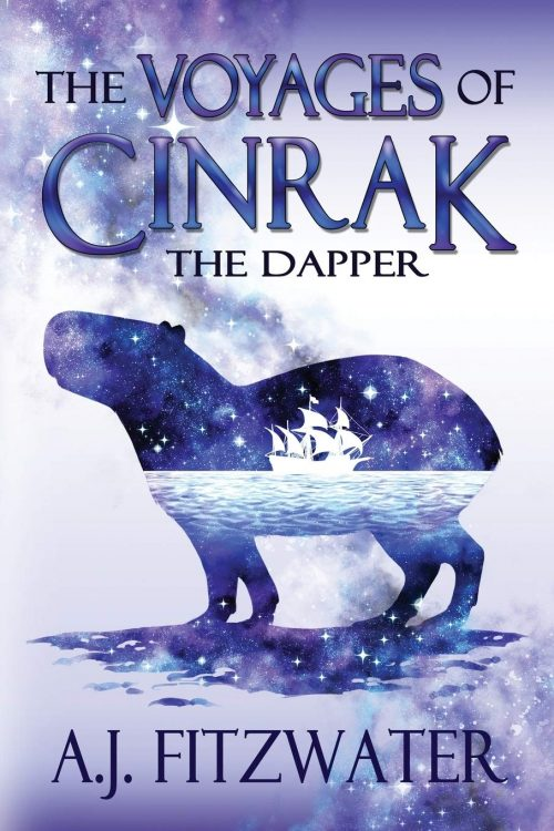 Book cover: The Voyages of Cinrak the Dapper - AJ Fitzwater