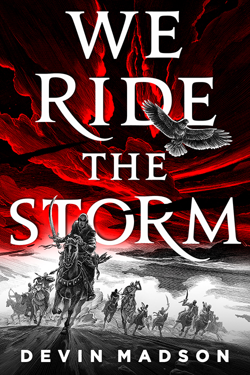 Book cover: We Ride The Storm - Devin Madson