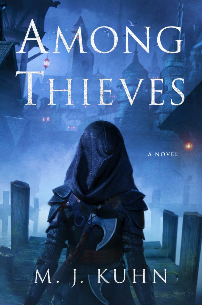 Book cover: Among Thieves - MJ Kuhn