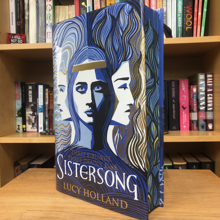 Goldsboro SFF edition hardback of Sistersong by Lucy Holland