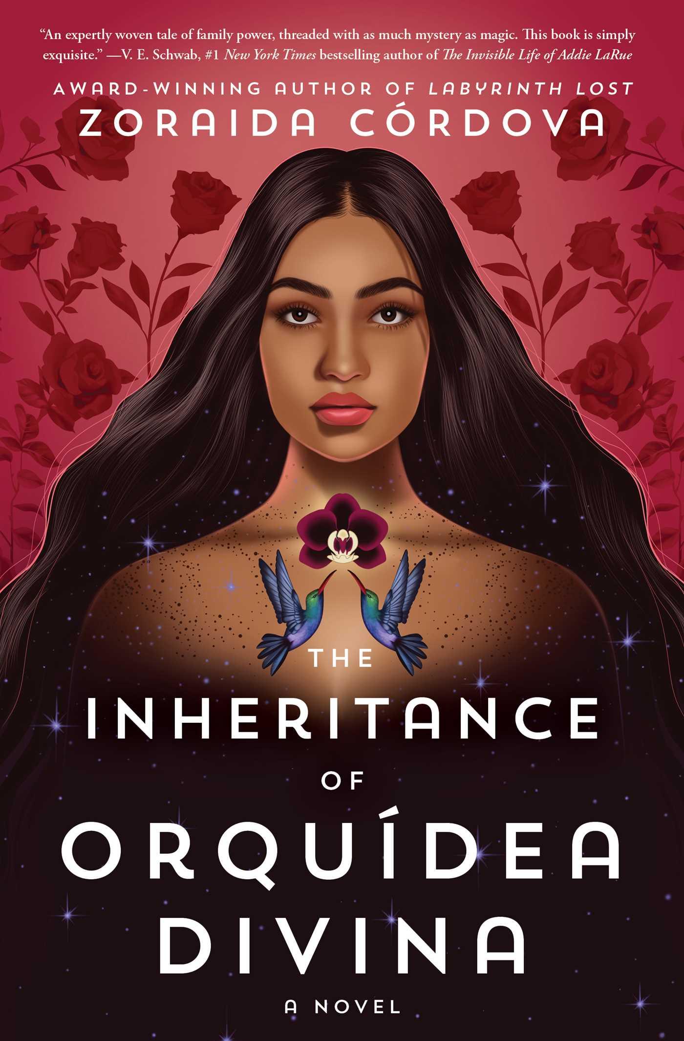 Book cover: The Inheritance of Orquídea Divina - Zoraida Cordova