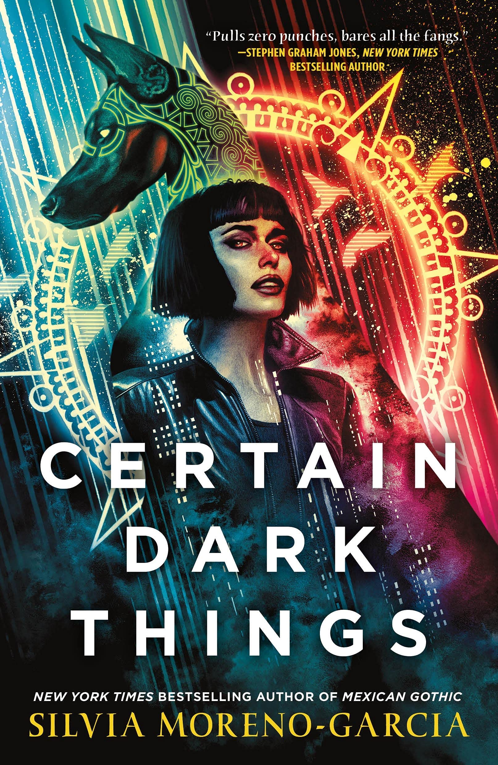 Book cover: Certain Dark Things - Silvia Moreno-Garcia (Jo Fletcher Books)