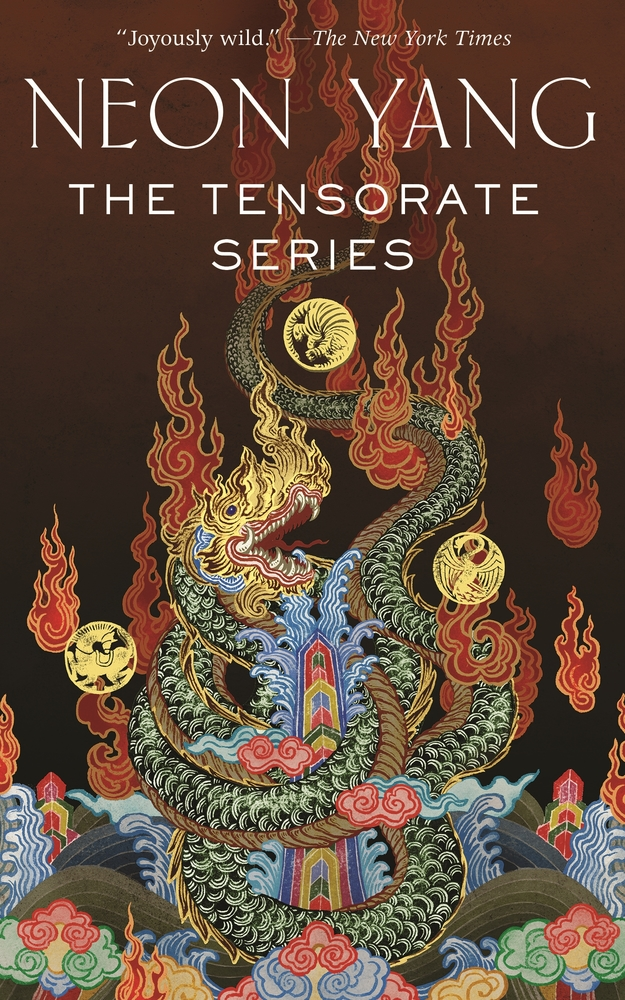 Book cover: The Tensorate Series - Neon Yang (collected edition)