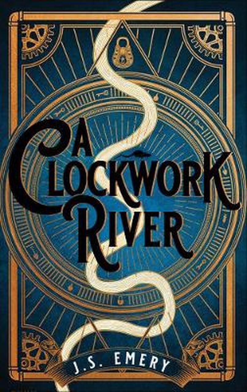 Book cover: A Clockwork River - JS Emery