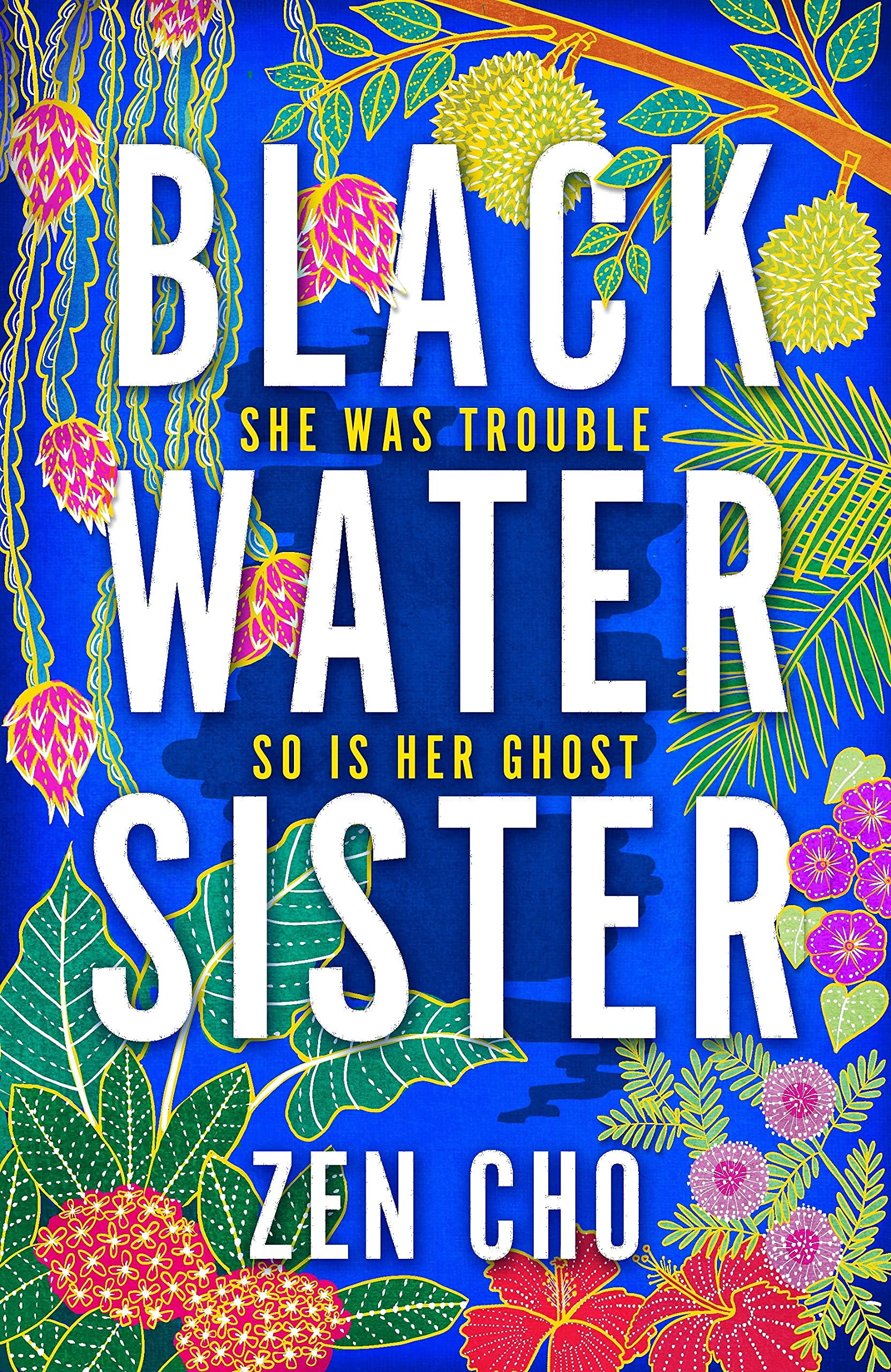 Book cover: Black Water Sister - Zen Cho (UK edition)
