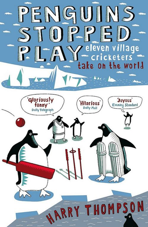 Book cover: Penguins Stopped Play