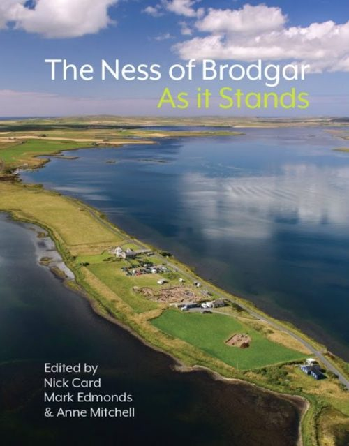 Book cover: The Ness of Brodgar As It Stands
