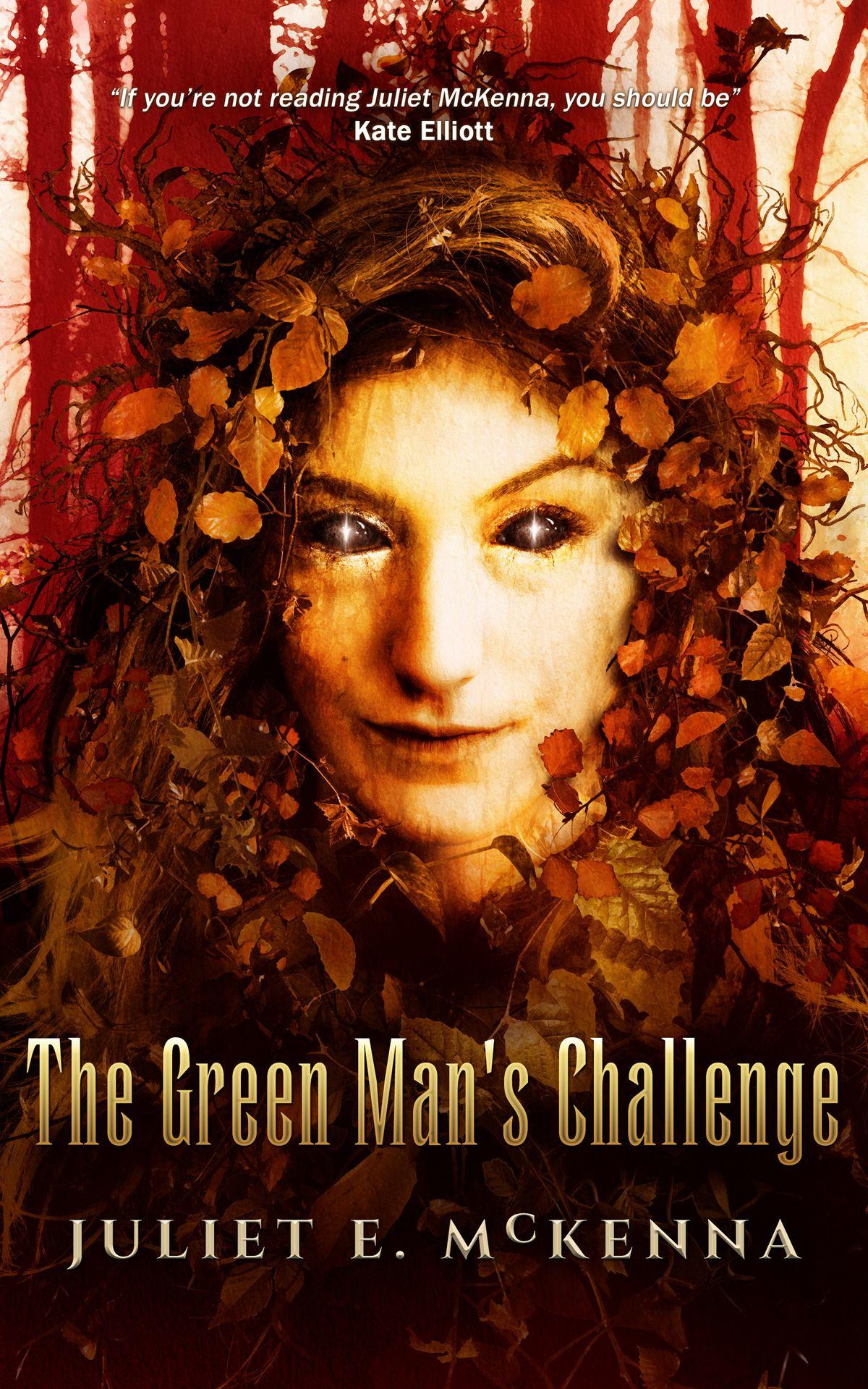 Book cover: The Green Man's Challenge - Juliet McKenna